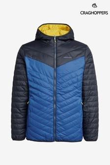 Niebieska kurtka z kapturem Craghoppers Complite