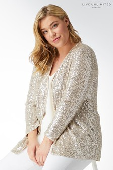 Live Unlimited Mink Sequin Jacket