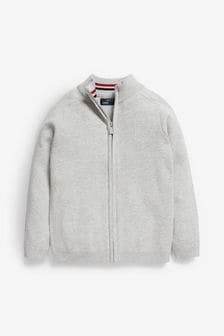 Pletený sveter na zips (3 – 16 rok.)