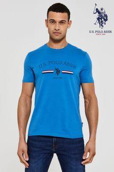 U.S. Polo Assn. Blue Stripe Rider T-Shirt