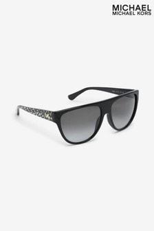 Michael Kors Barrow Sonnenbrille, Schwarz