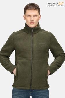 Regatta Green Garrian Full Zip Fleece Jacket