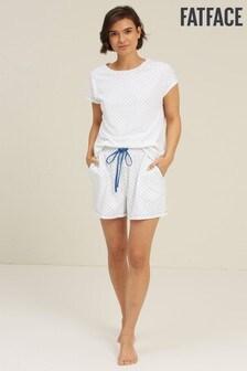 FatFace Ivory Anchor Pyjama Set