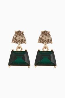 Mini Jewel Drop Earrings