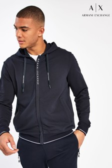 Armani Exchange Navy Hoody