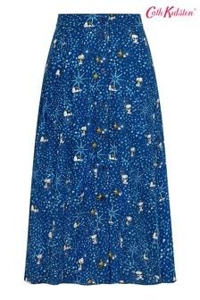 Cath Kidston® Snoopy Button Through Midi Skirt