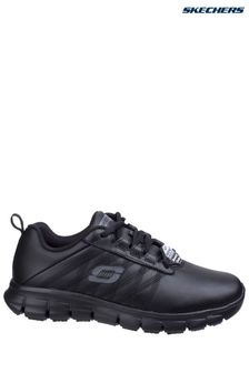 Skechers® Black Sure Track Shoes