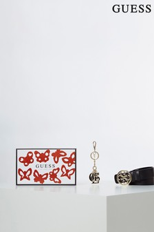Guess Black/Red Gift Box Set