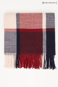 Warehouse Berry Check Scarf