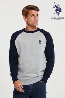 סוודר בסגנון אמריקאי של U.S. Polo Assn.