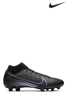 Nike Black Mercurial Superfly 7 Academy Multi Ground Football Boots