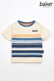 Baker by Ted Baker Baby Jungen Gestreiftes T-Shirt