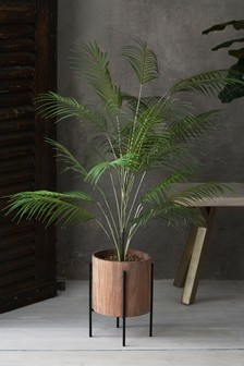 Artificial Needle Palm In Stand