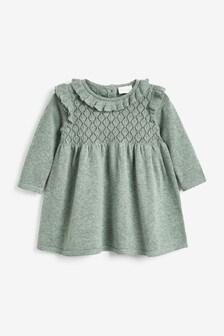 Вязаное платье (0 мес. - 2 лет)