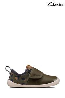 Кроссовки оливкового цвета с камуфляжным принтом Roamer Sport T