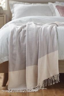 輕盈條紋薄毯