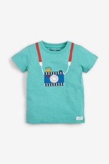 短袖相機互動T恤 (3個月至7歲)