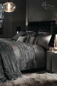 Cuvertură de pat din catifea încreșită Kylie Zander