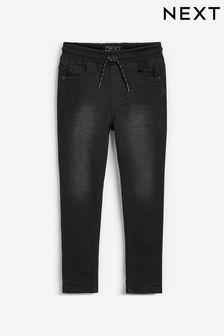 Jersey Denim Pull-On Jeans (3-16yrs)