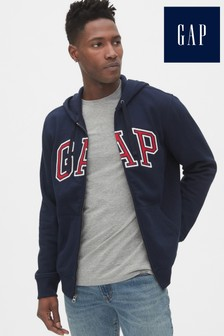 Gap Blue Logo Hoody