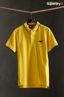 Superdry Organic Cotton Classic Poolside Pique Poloshirt