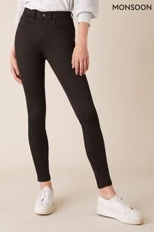 Monsoon Brown Nadine Organic Cotton Regular Denim Jeans