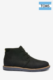TOMS Navi Leather Chukka Boots