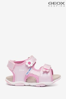 Geox Baby Girl's Agasim Pink Sandals
