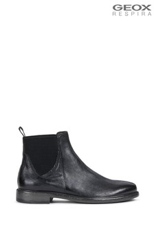 Geox Mens Terence Black Boots