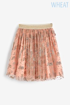 Wheat Pink Snow White Tulle Skirt