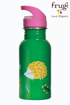 Frugi Green Steel Water Bottle