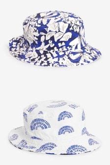 雙面用漁夫帽 (3個月至6歲)