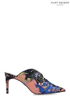 Kurt Geiger London Pink Bella Heel Sandals