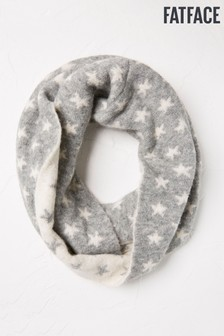 FatFace Star Knitted Snood