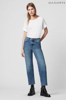AllSaints Indigo Straight Harper Jeans