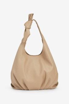 Knot Detail Hobo Bag