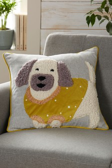 Charlie The Cockapoo Cushion