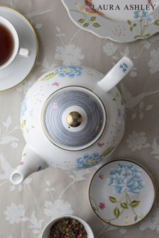 Laura Ashley White Heritage Collectables Teapot