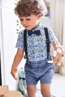 Рубашка и шорты (комплект) (3 мес.-7 лет)