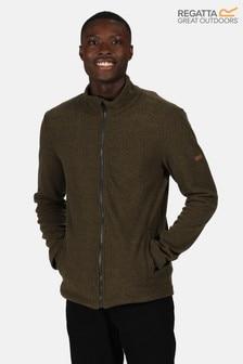 Regatta Green Esdras Full Zip Fleece Jacket