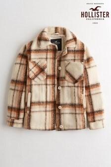 Košilová bunda Hollister