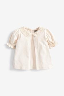 Блузка с воротником (3 мес.-7 лет)