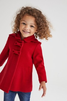 蝴蝶結細節外套 (3個月至10歲)