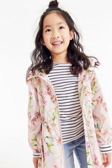 印花短外套 (3-16歲)
