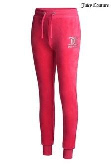 Велюровые спортивные брюки Juicy Couture