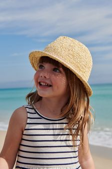Trim Straw Trilby (Younger)