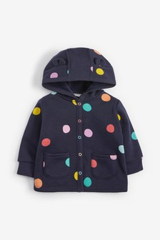 Cosy Popper Lightweight Jacket (0mths-3yrs)