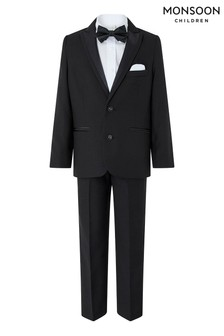 Monsoon Black Benjamin Tuxedo Four Piece Set