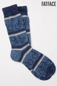 FatFace Blue Bike Mallory Socks