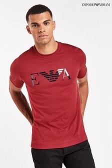 Emporio Armani T-shirt met adelaarlogo
